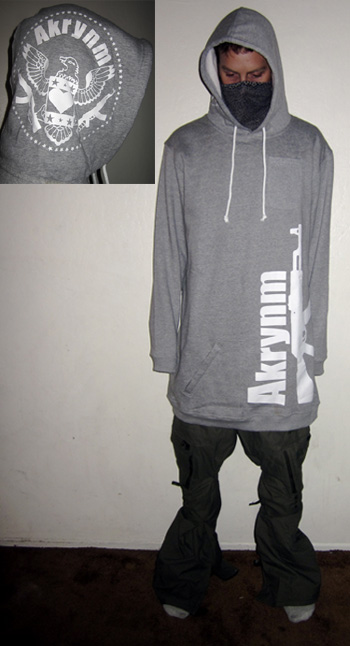 "Tall ""Original hoodie "" Heather Grey-XLT"