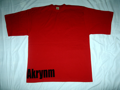 """Simple"" Tall tee Black/Red-4XLT"