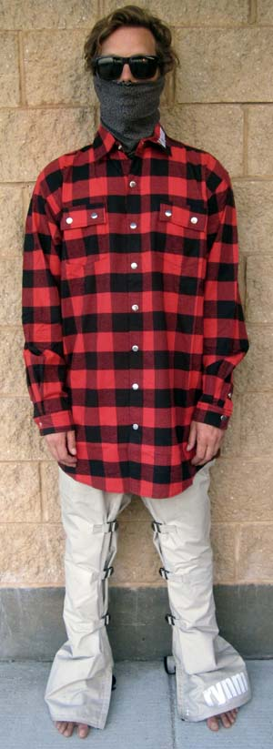 Tall button-up flannel-XLT R&B