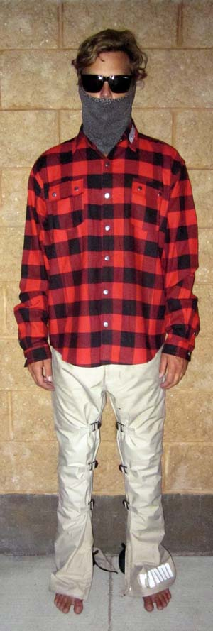 A Button-up Flannel Long Sleeve-XL R&B