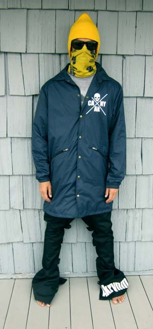 "Tall ""Coaches Jacket"" XLT- Navy Blue"