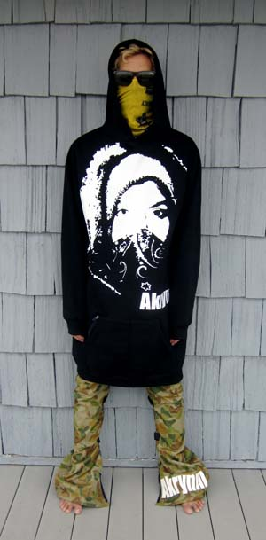 "A Tall ""Alive "" hoodie-Black"